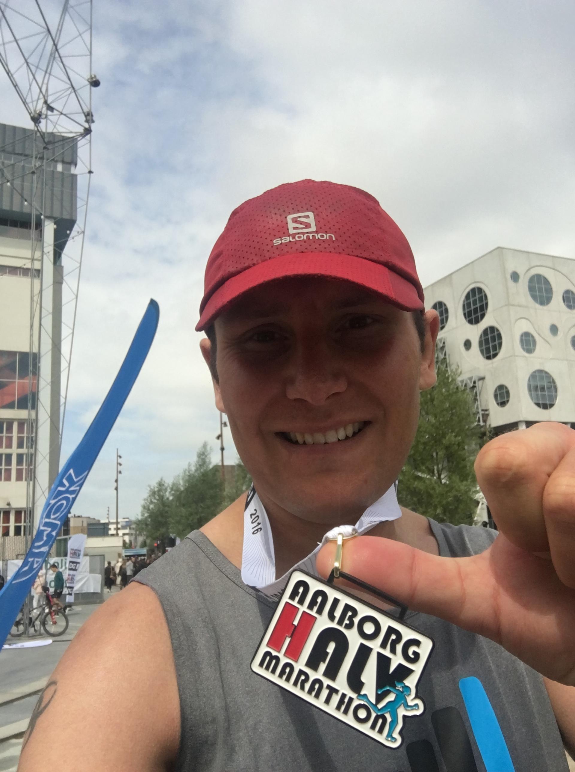 Aalborg Halvmarathon gennemført i tiden 1:31:48