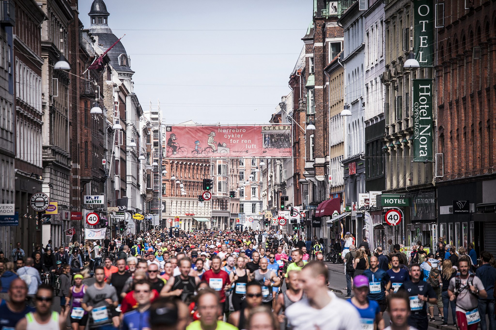 You're never alone! Foto: Copenhagen Marathon/Sparta