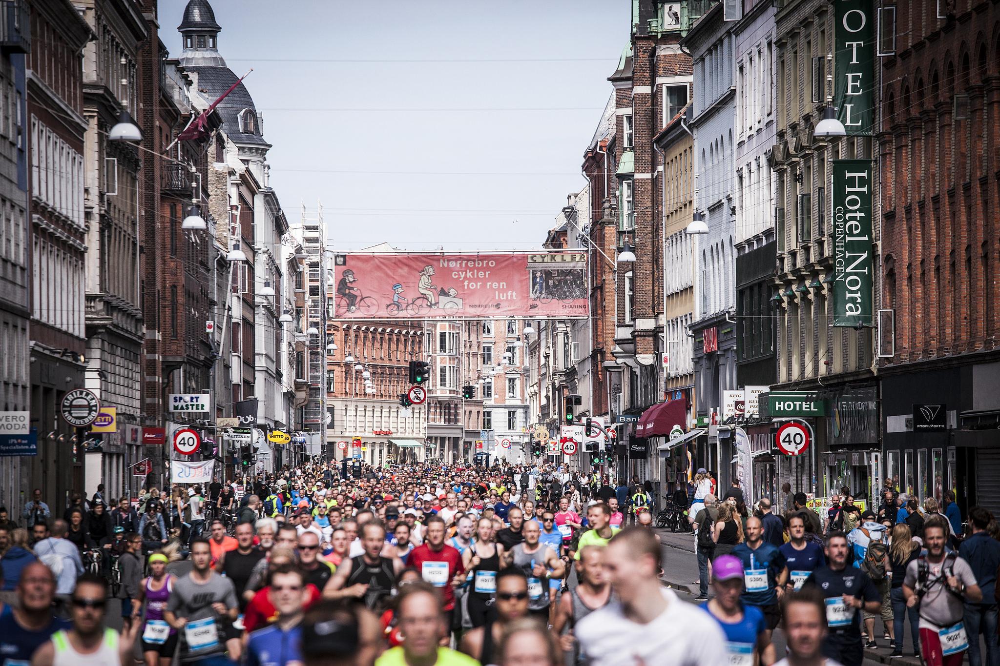 You're never alone! Foto: Copenhagen Marathon/Sparta