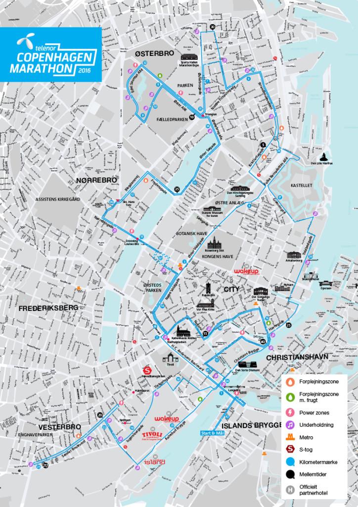 Copenhagen Marathon er et lækkert byløb, på en stort set flad rute.