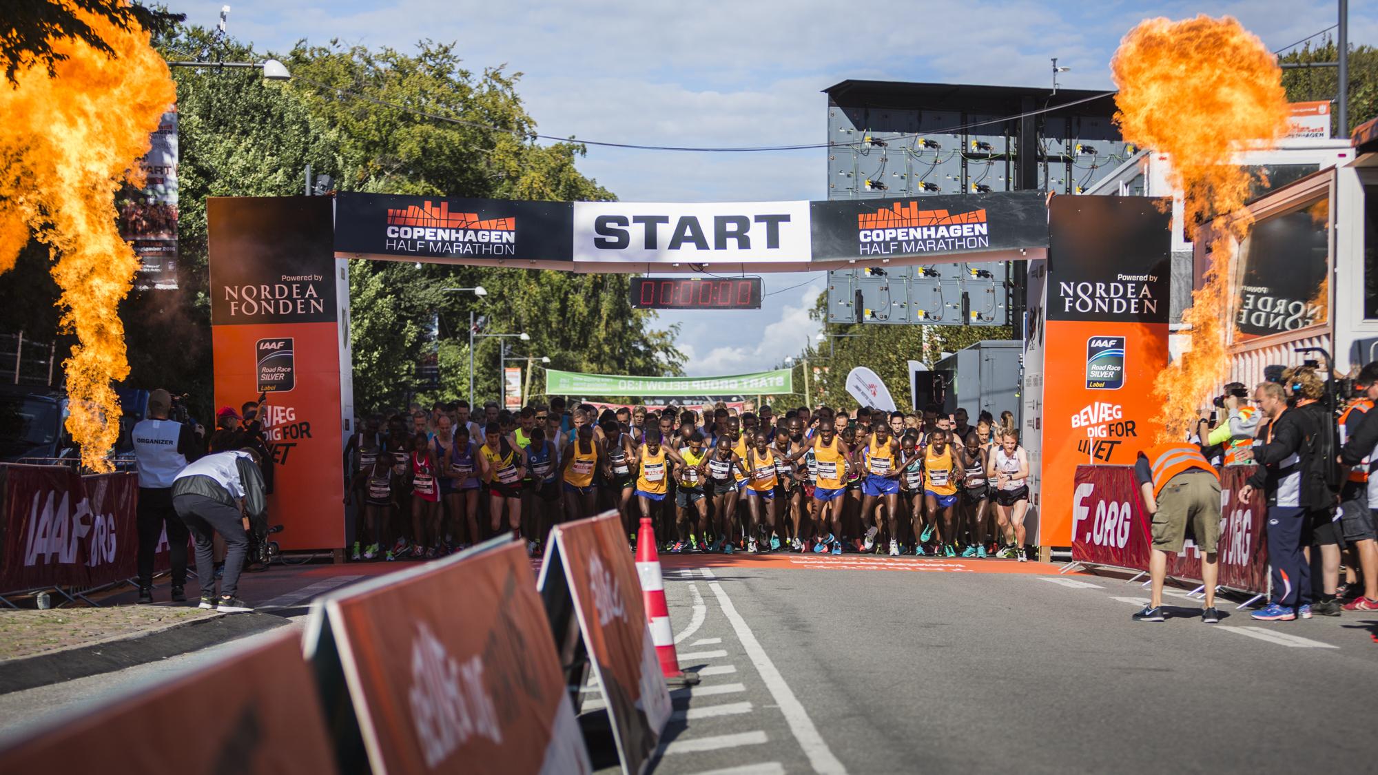 Eliteløberne var mødt op med øjnene stift rettet på verdensrekorden...