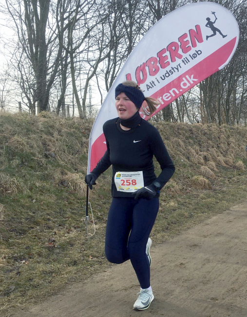 Astrids første officielle halvmarathon