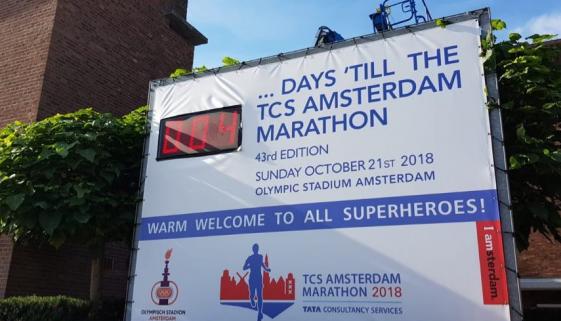 Amsterdam marathon 3 days to go