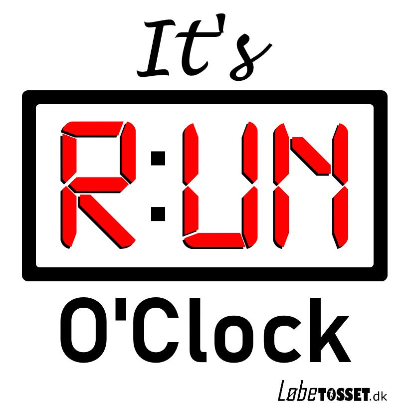 Run OClock logo